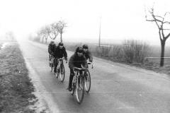 Straßentraining Winter 1980er Jahre